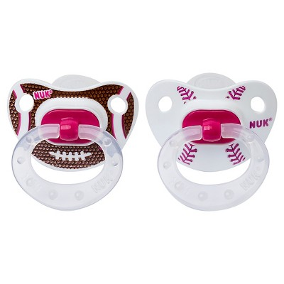NUK Sports Silicone Orthodontic Pacifier 18-36M - 2 pack