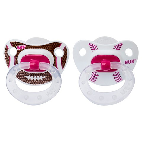 NUK BPA Free Sports Pacifiers - 6+ Months - Silicone