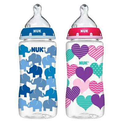 Nuk 10-oz. Bottle - Elephants