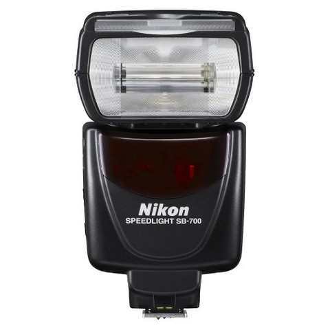 Nikon SB-700 AF Speedlight SLR Camera Flash, 24-120mm Zoom Range - Black