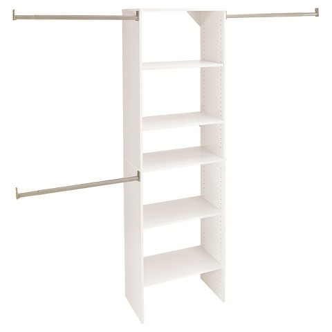 ClosetMaid Suite Symphony 25 in. Wide Closet Tower Kit- White