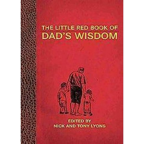 The Little Red Book of Dad's Wisdom (Hardcover)