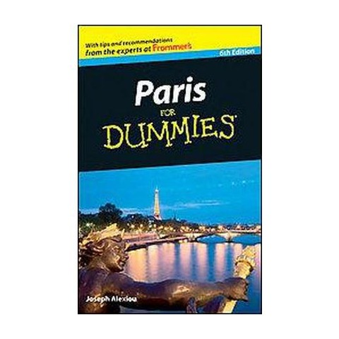 Paris for Dummies (Paperback)