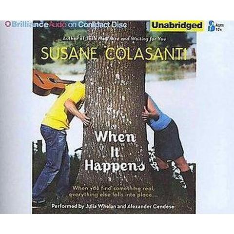 When It Happens (Unabridged) (Compact Disc)