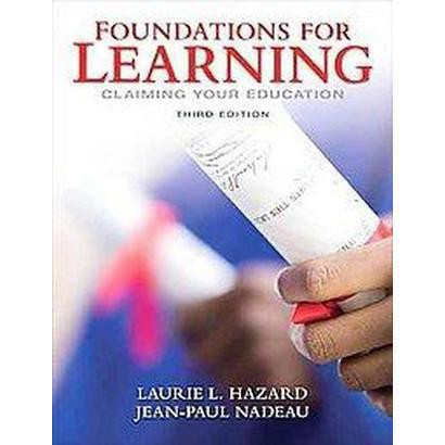 Foundations for Learning (Paperback)