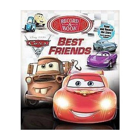 Cars 2 Best Friends Record-A-Book (Hardcover)