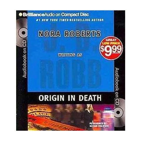 Origin in Death (Abridged) (Compact Disc)