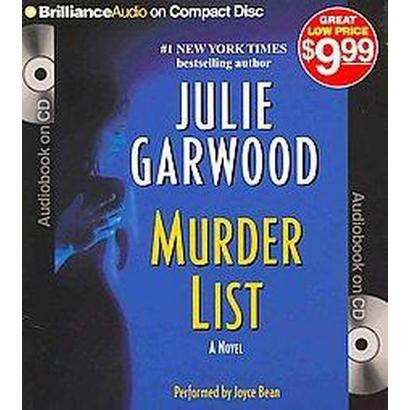 Murder List (Abridged) (Compact Disc)