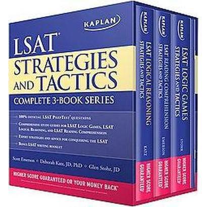 Kaplan LSAT Strategies and Tactics Complete 3-Book Series (Mixed media product)