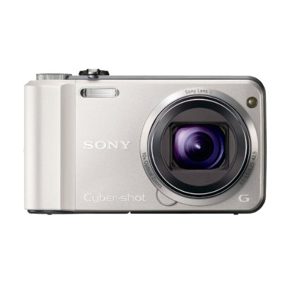 Sony Cyber-shot DSCH70 16.1MP Digital Camera with 10x Optical Zoom - Silver