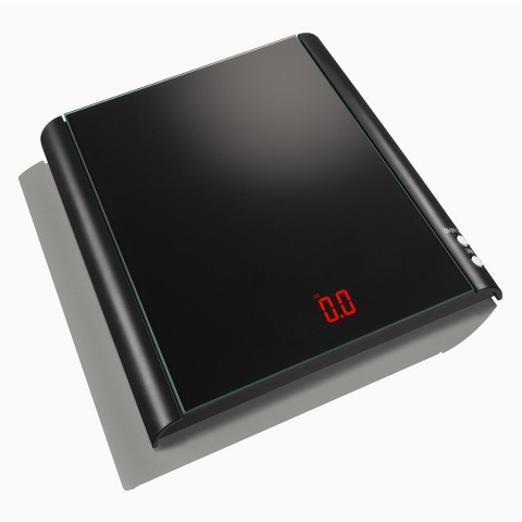 Taylor Digital Black Glass Food Scale