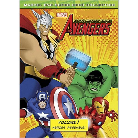 The Avengers: Earth's Mightiest Heroes, Vol. 1 (Widescreen)