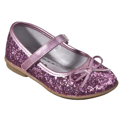 Toddler Girl's Cherokee® Jaray Glitter Ballet Flats - Assorted Colors