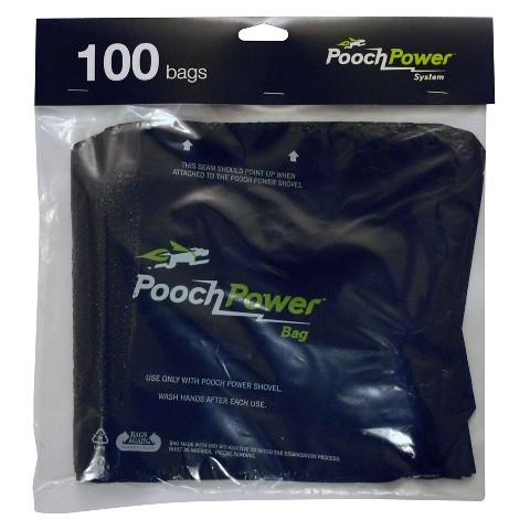 Pooch Power Refill Bags - Black
