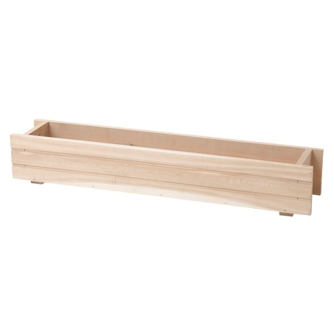 "Basic Window Box Planter - Cedar (36"")"