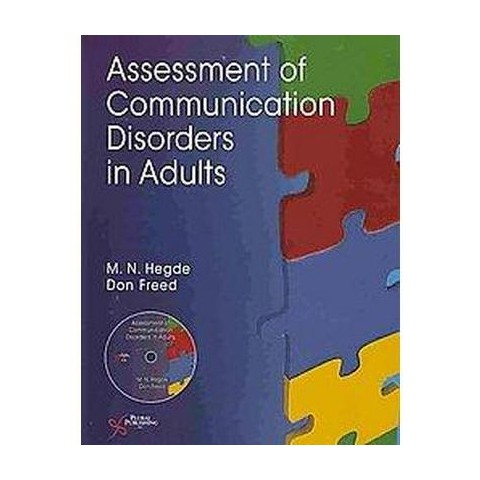 Assessment of Communication Disorders in Adults (Mixed media product)