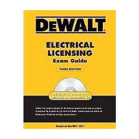DeWalt Electrical Licensing Exam Guide (Mixed media product)