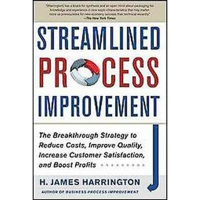 Streamlined Process Improvement (Hardcover)