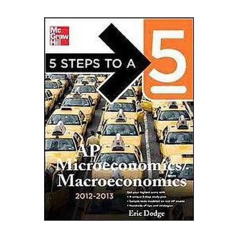 AP Microeconomics / Macroeconomics 2012-2013 (Paperback)