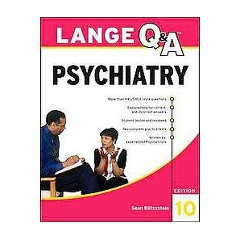 Lange Q and A Psychiatry (Paperback)