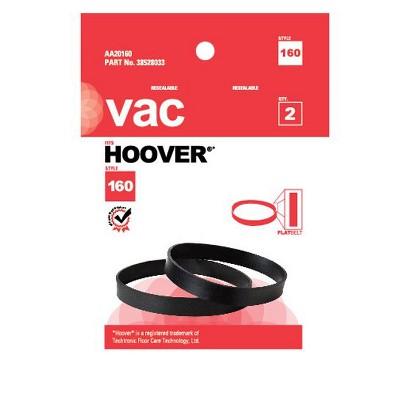 Hoover 160 Belt - 2 pack