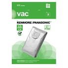 Kenmore® Type C/Q 5055, Panasonic Type C5 Vacuum Bag (3-Pack), AA10007