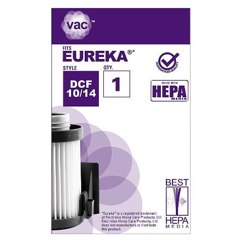 Eureka® Type DCF 10/14 Vacuum Filter (1-Pack), AA41014
