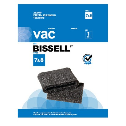 Bissell® Type 7 & 8 Vacuum Filter, AA40079