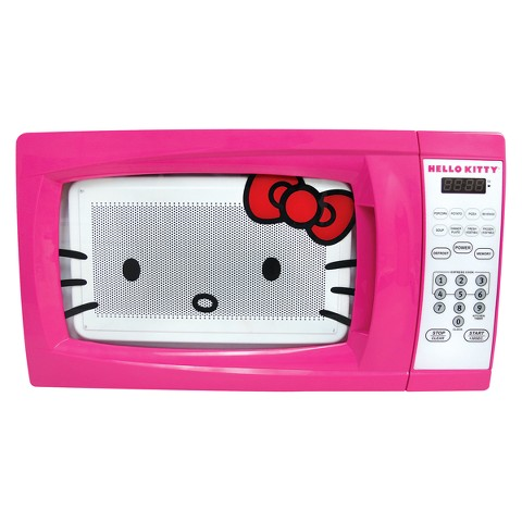 Hello Kitty Microwave Oven- Pink (7 CuFt)