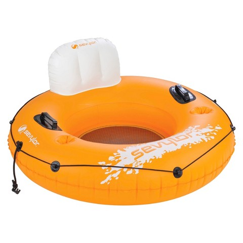 Sevylor® Mesh-Bottom River Tube 1 Person Float - Orange