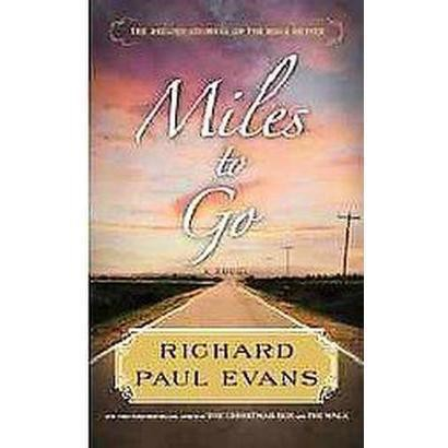 Miles to Go (Large Print) (Hardcover)