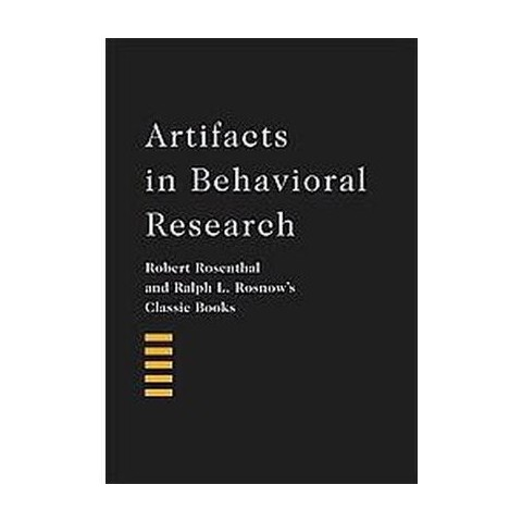 Artifacts in Behavioral Research (Hardcover)