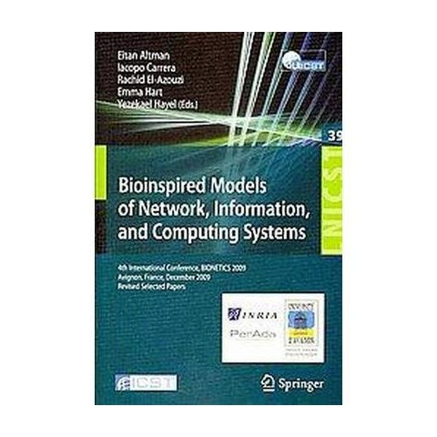 Bioinspired Models of Network, Information, and Computing Systems (Paperback)