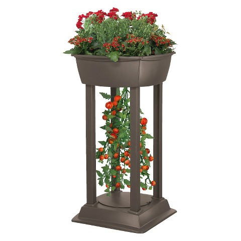 Tomato Tower Planting Station - Brown