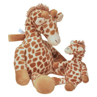 Cloud B Gentle Giraffe Baby Soother with Rattle