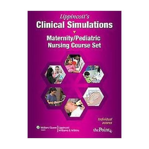 Maternity/Pediatric Nursing Course Set (CD-ROM)