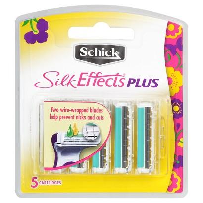 Schick® Silk Effects Plus Cartridges - 5 Cartridges