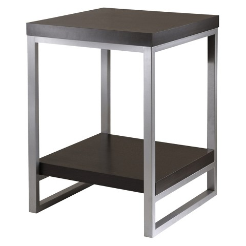 Winsome Jared End Table - Dark Espresso