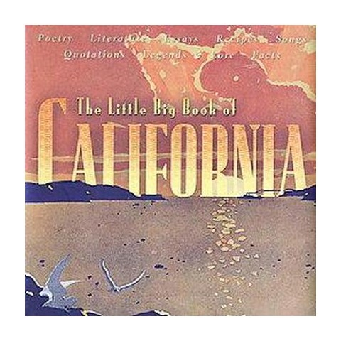 Little Big Book Of California (Hardcover)