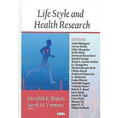 Life Style and Health Research (Hardcover)