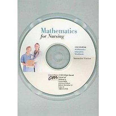 Mathematics for Nursing (CD-ROM)