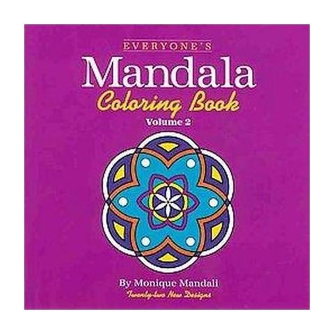 Everyone's Mandala Coloring Book (2) (Paperback)