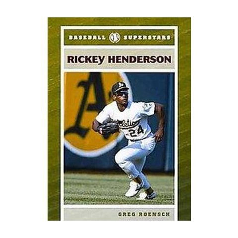 Rickey Henderson (Hardcover)