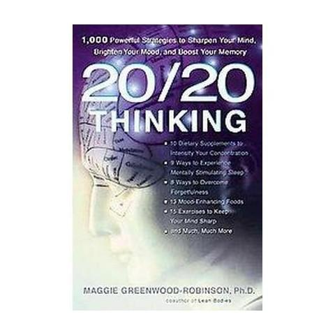 20/20 Thinking (Paperback)