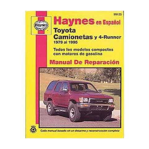 Camionetas Toyota & 4-Runner Manual de Reparacion (Paperback)