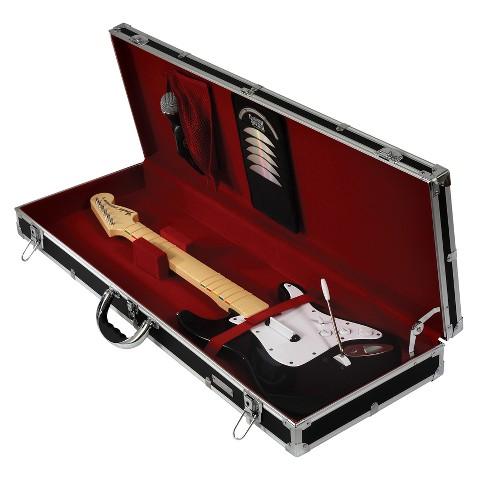 Vaultz® Guitar Game Storage Case - Black