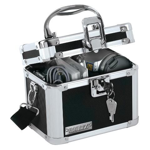 Vaultz® Medium Camcorder Case - Black