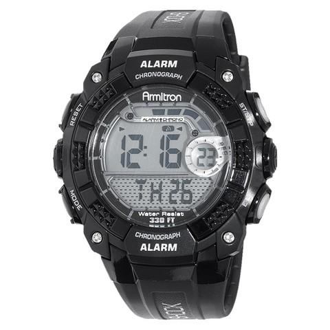 Armitron Men's Black Dial Digital Sport Watch