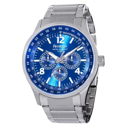 Armitron Men's Multifunction Sub-Dial Watch  - Blue