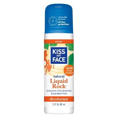 Kiss My Face Natural Liquid Rock Sport Deodorant- 3oz.